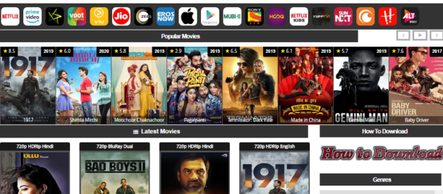 ExtraMovies 2020: Hindi Dubbed Hollywood, Bollywood 300MB Movies Download