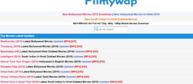 Filmywap 2020: Download & Watch Bollywood, Hollywood, South, Punjabi Movies Free!