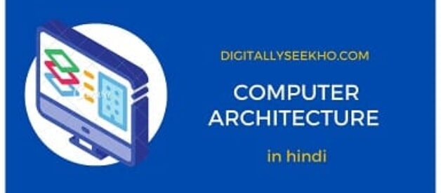 computer organization and architecture in hindi