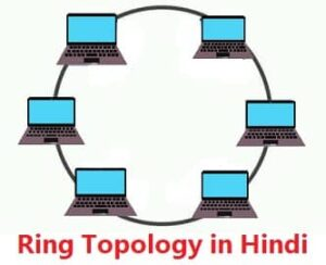 ring topology in computer networks in hindi